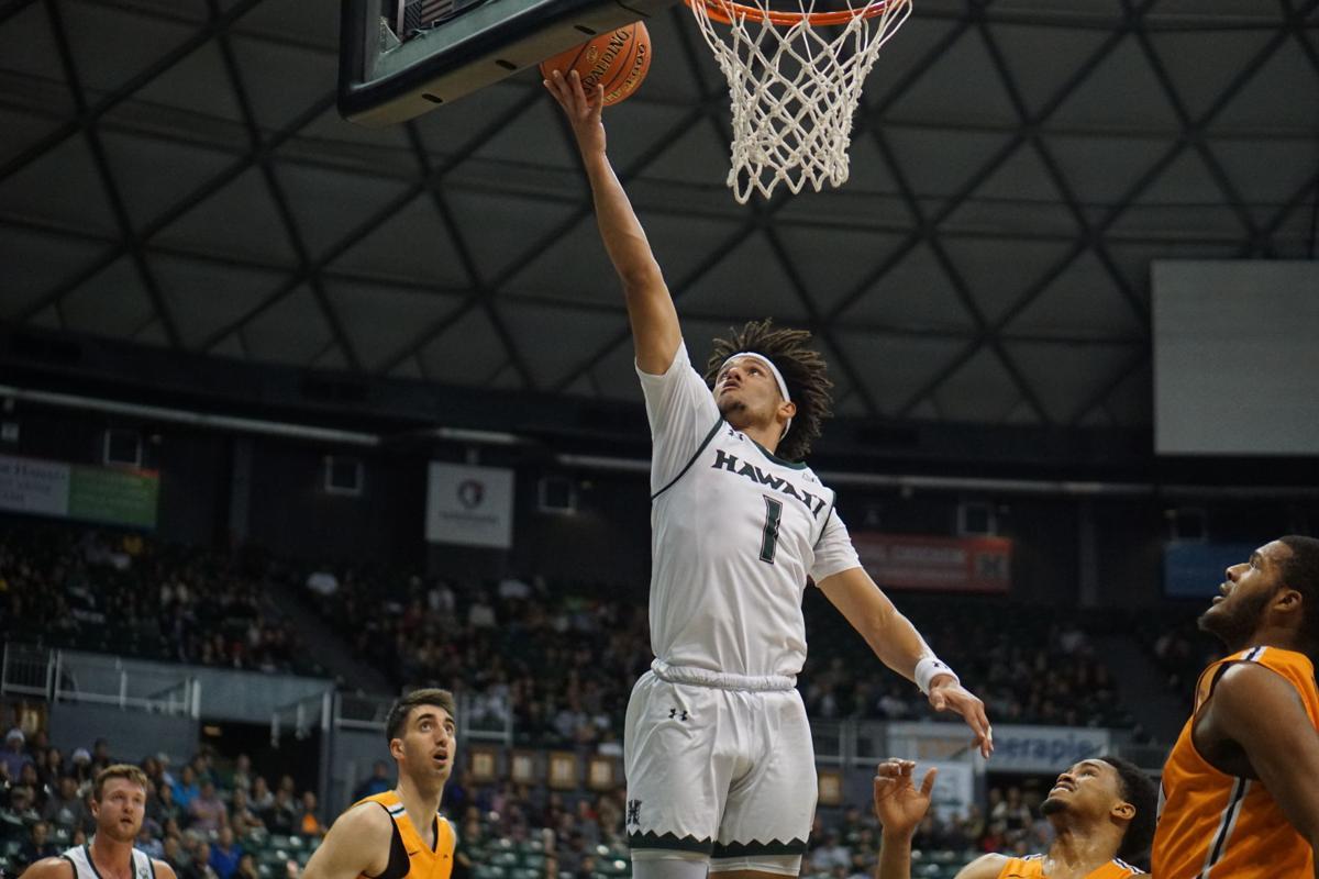 UTEP men's basket-ball big win at Hawaii