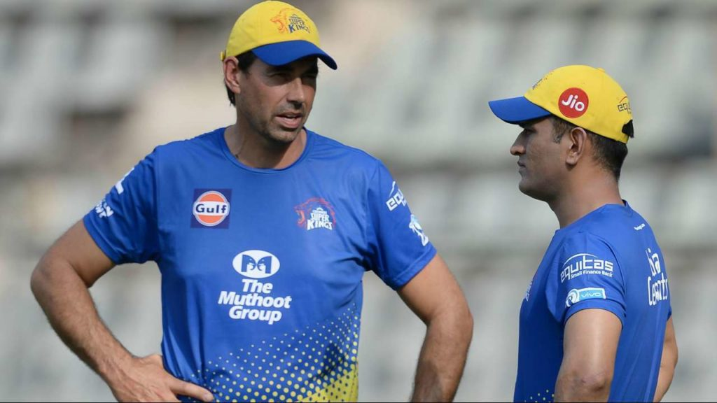 CSK mentor Fleming uncovers auction strategy
