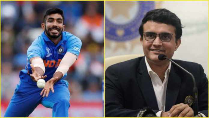 Sourav Ganguly announced: No Ranji Trophy game for Jasprit Bumrah