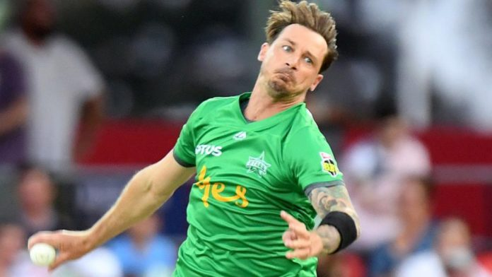 Dale Steyn's first over in the Big Bash League was something unique