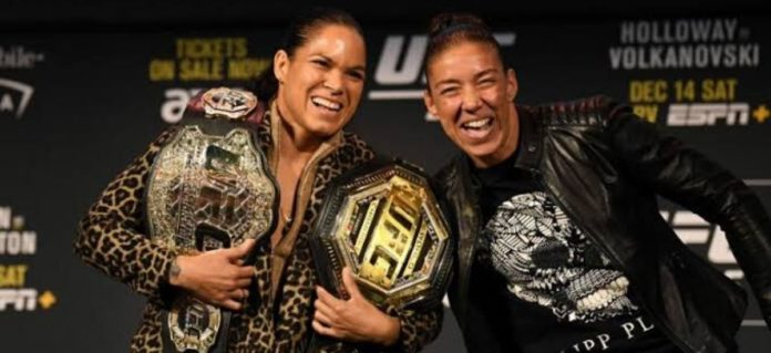 Amanda Nunes isn't in the main event of Two-division UFC champ