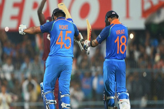 Virat Kohli along with Rohit Sharma shatter records in Mumbai T20I