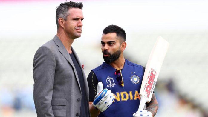 Kevin Pietersen's humorous message on Virat Kohli's return picture