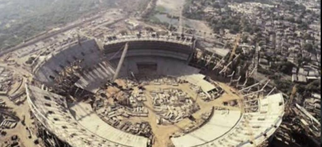 World's Biggest Cricket Stadium In Ahmedabad Finally Takes a Shape
