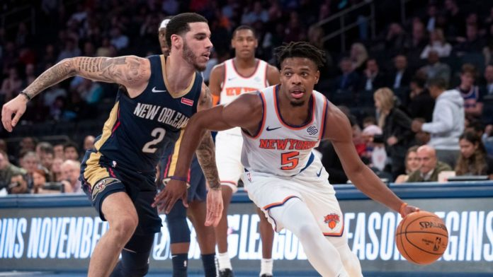 Questionable Wednesday on Knicks Dennis smith jr. start in the