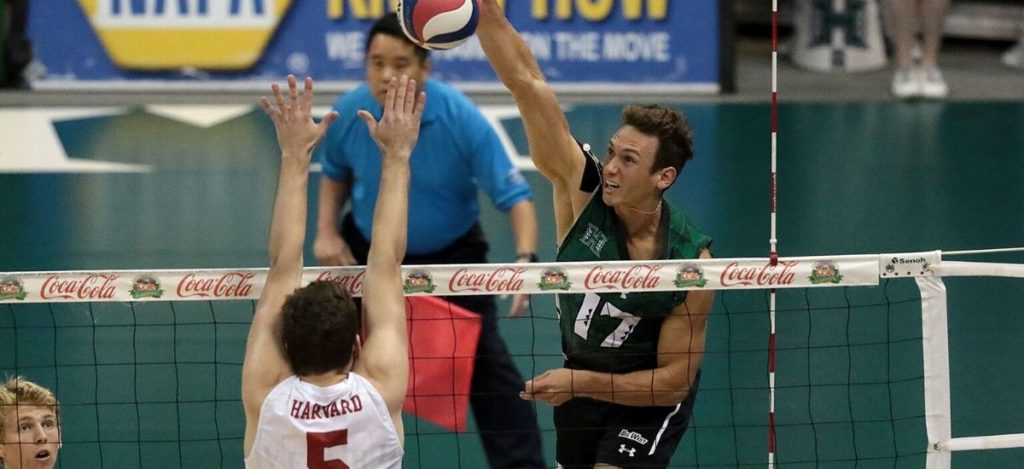 The Undefeated Hawaii Men's Volleyball Team Started With Sweeping Lincoln Memorial