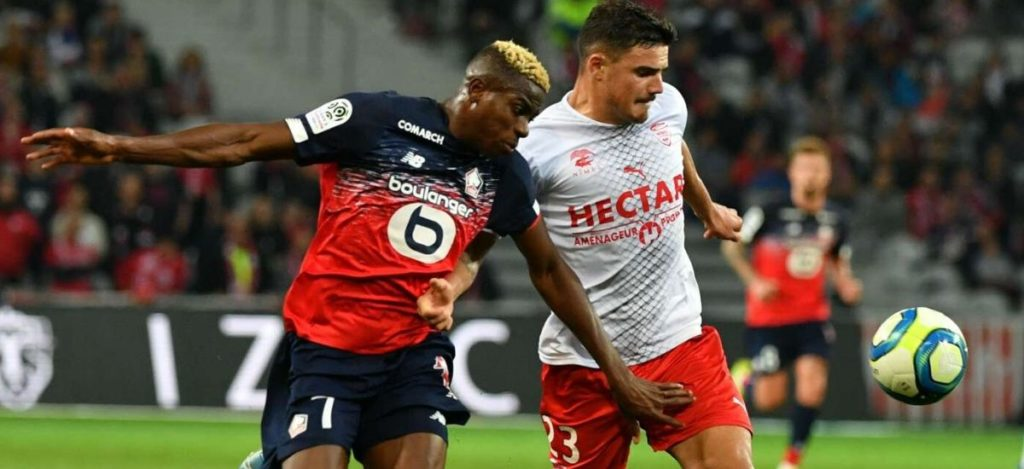 Chelsea, Spurs, and Liverpool face move fight for Lille's Nigerian star Victor Osimhen