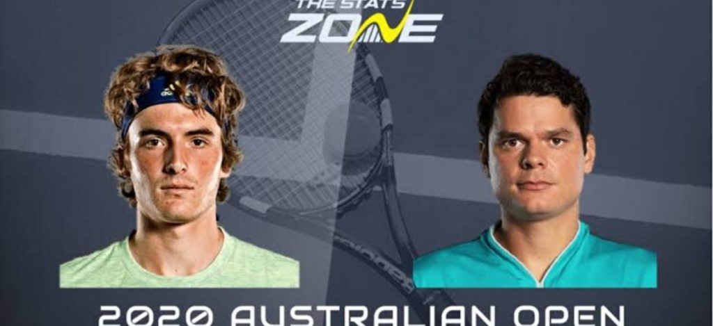 Tsitsipas vs Milos raonic third round preview for Australian open 2020 Los angeles lakers: