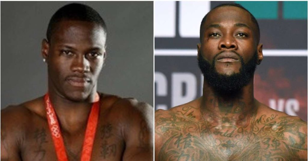 Deontay Wilder's incredible body transformation from 2008 Olympics to now