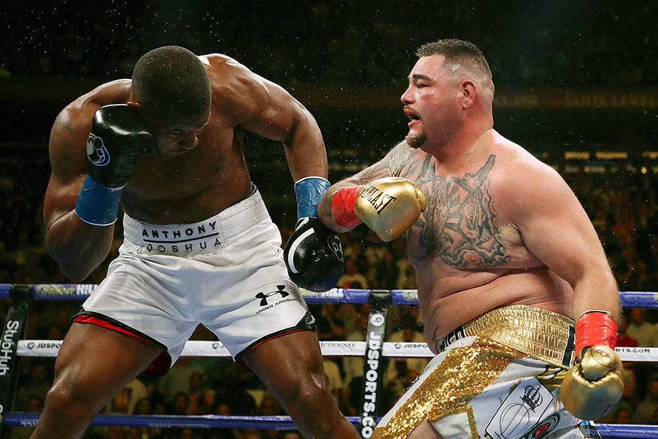 The winner from Andy ruiz jr. vs Luiz ortiz fight will gets the world title shot