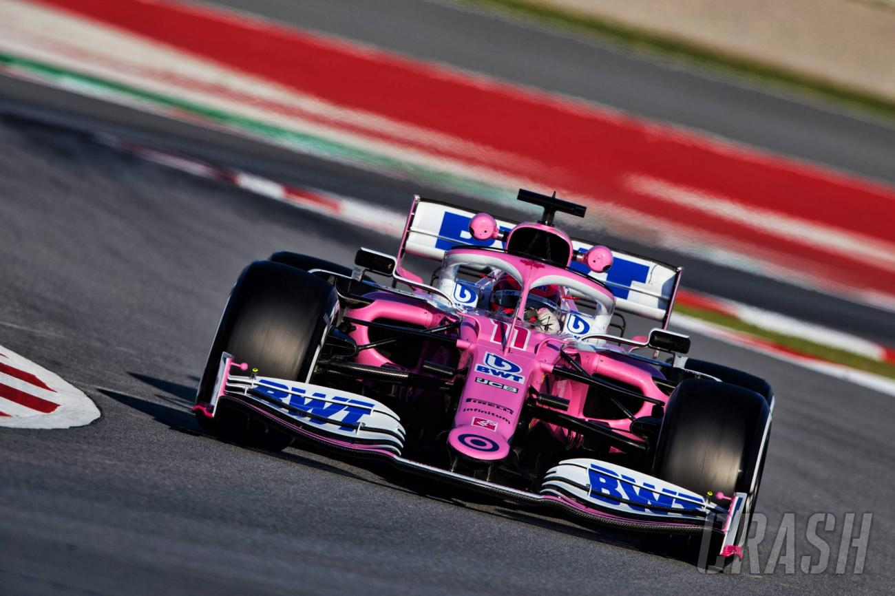 Sergio Perez Ended The Second Morning Of 2020 Formula 1 Pre-Season Testing On Top Of The Timesheets!