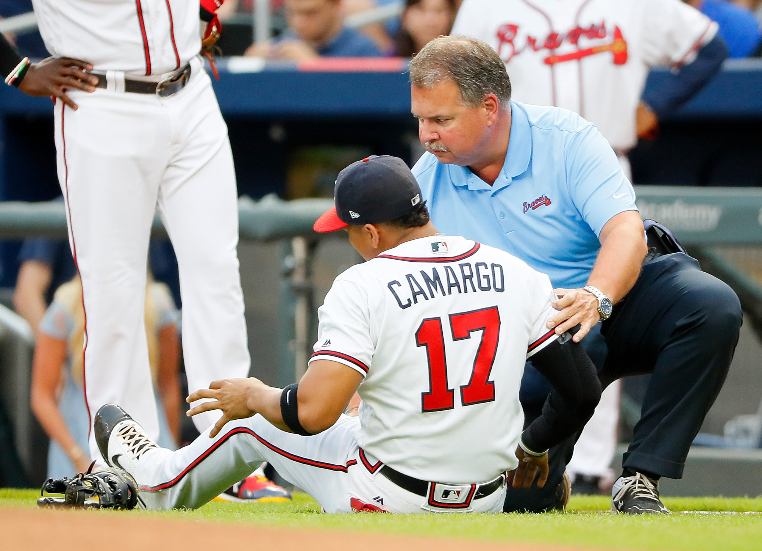 MLB commissioner says he hasn't talk on tomahawk chop with Braves yet