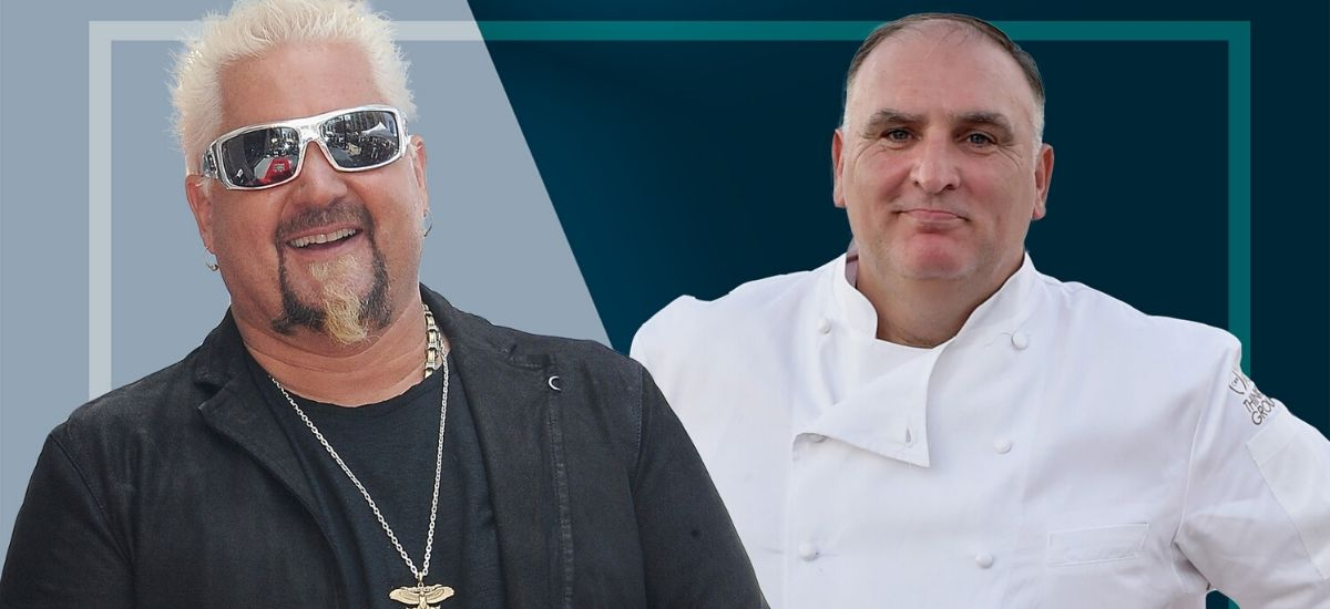 Guy Fieri and Jose Andres will play against each other in NBA celebrity game This is a good thing