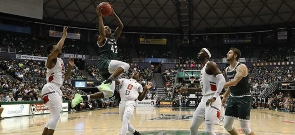 Rainbow Wahine basketball team continued it's hot outside shooting over Long Beach State