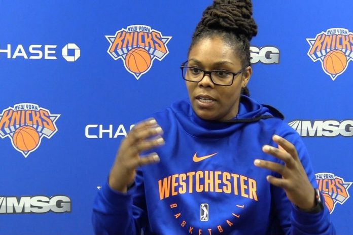 With the selection of first female coach Major league basketball makes history