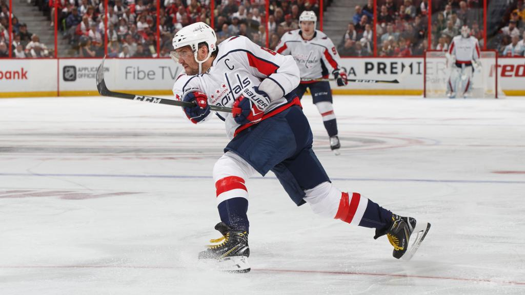 Ovechkin is the NHL's greatest goal scorer ever