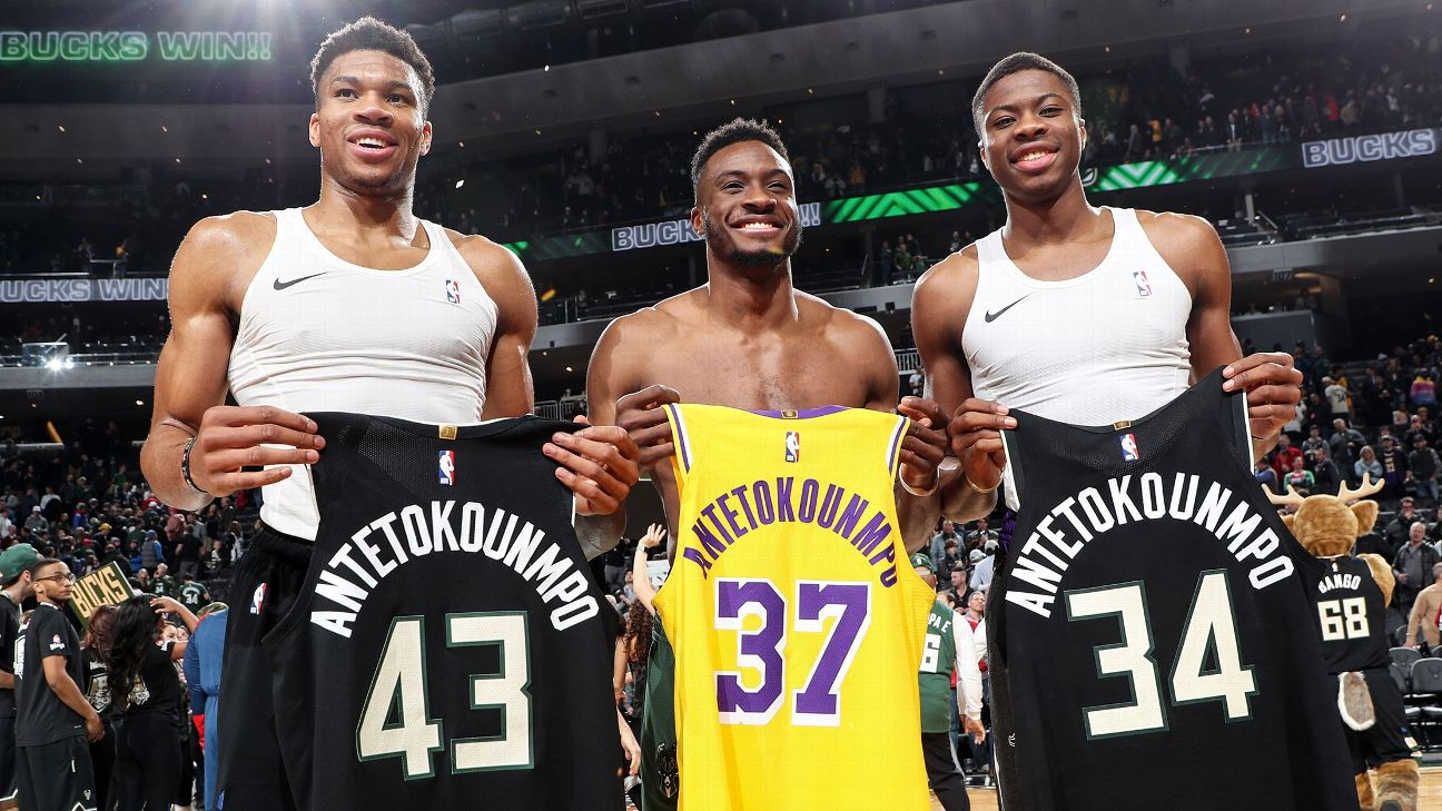 Giannis Antetokounmpo and his brother have one goal. Is to be the father's legacy.