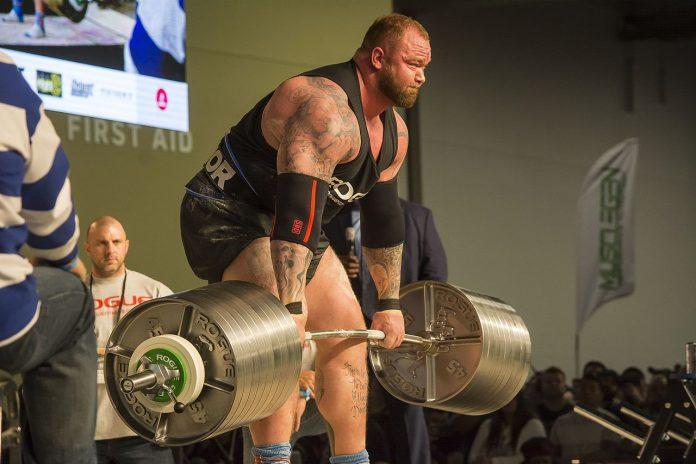world record deadlift