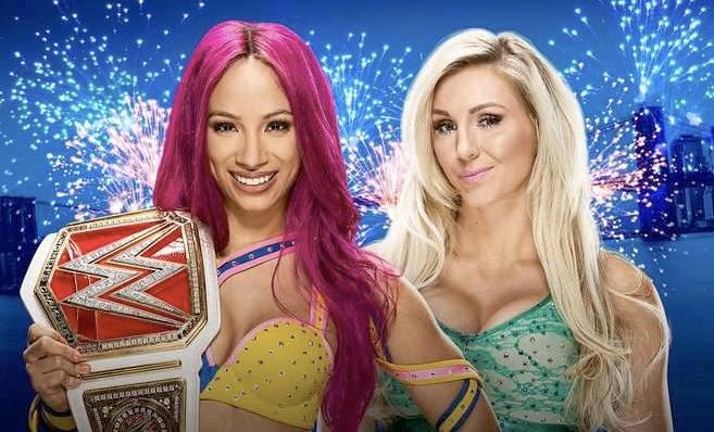 Sasha vs. Charlotte