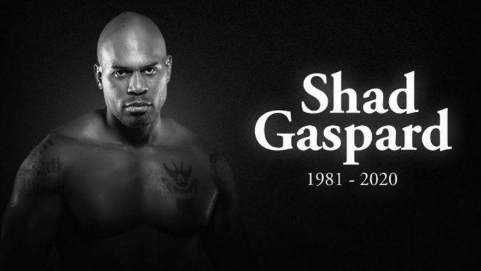 Shad Gaspard's body
