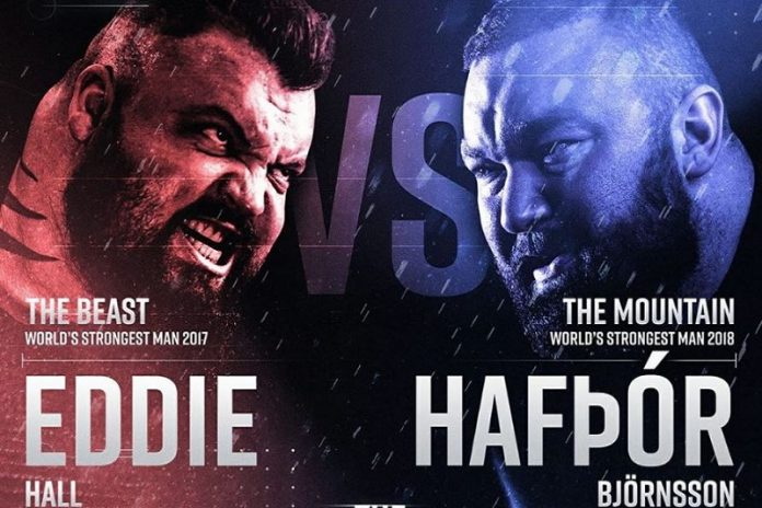 eddie hall accepts thor's boxing challenge