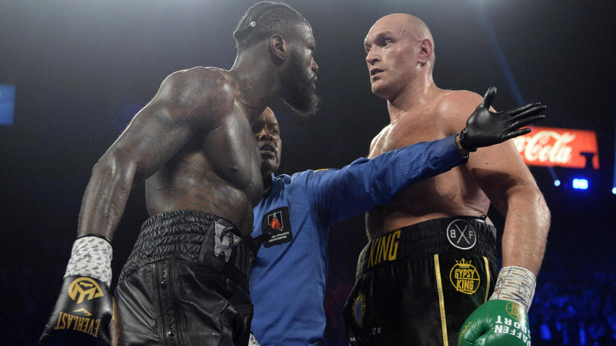 Fury v Wilder Rubber Match