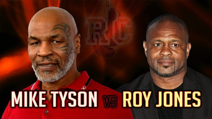 Mike Tyson vs. Roy Jones Jr. Exhibition Boxing Match