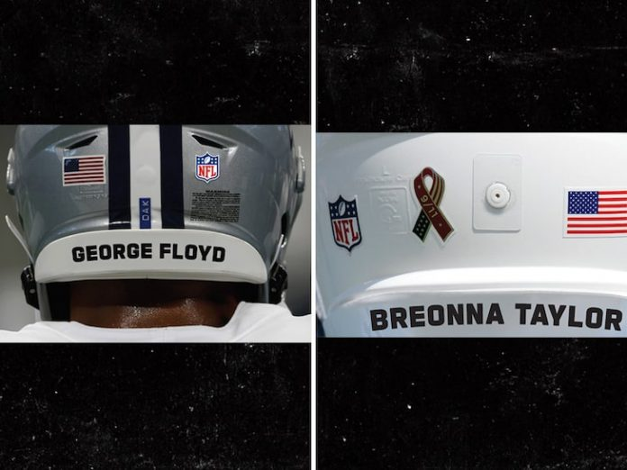 NFL Honors Victims of Social Injustice by Adding Their Names on Helmets