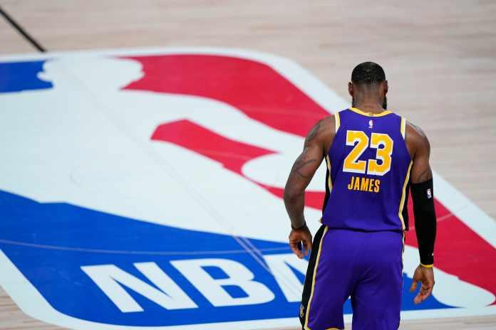 NBA in December 2020