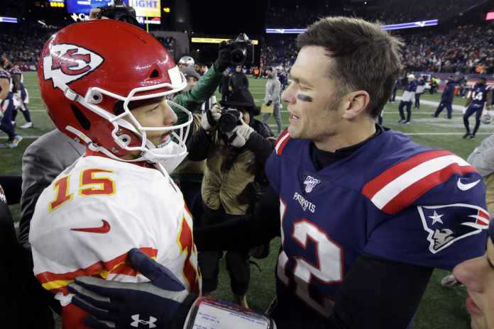 Tom Brady vs Patrick Mahomes