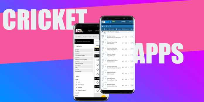 app for cricket betting