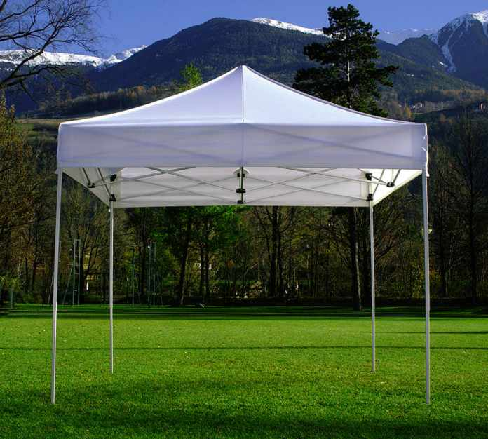 Custom Canopy Tent at Trade Shows